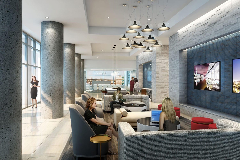 Houston Luxury Apartment Common Area