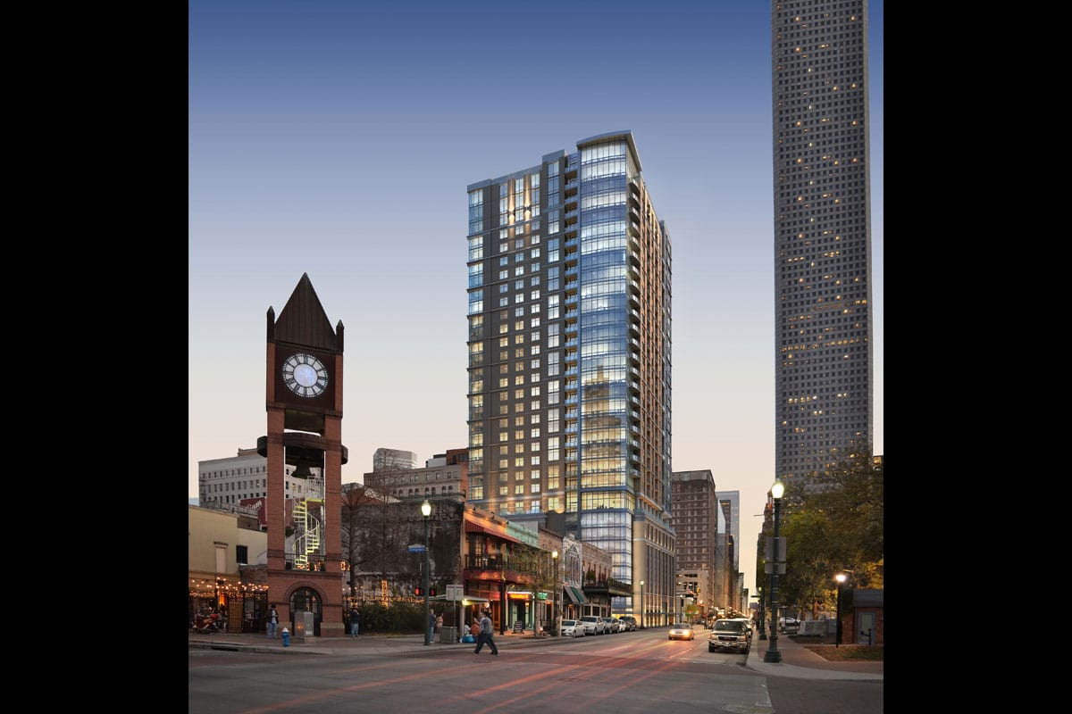 Houston Market Square Apartments